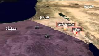 نشر دبابات إسرائيلية على مقربة من الحدود المصرية