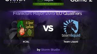 Liquid vs 4Clovers, game 2