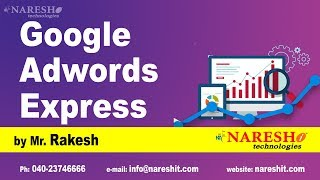 How to learn Google Adwords Express by Mr Rakesh
