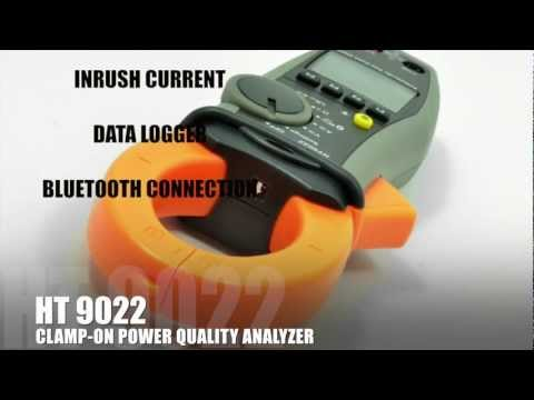 HT 9022 CLAMP-ON POWER QUALITY ANALYZER