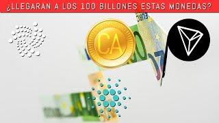 ¿Tocaran los $100 BILLONES en el 2018? Predicciones para CARDANO, IOTA, y TRON