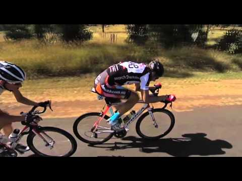 FKG Tour of Toowoomba - Stage 2 video highlights