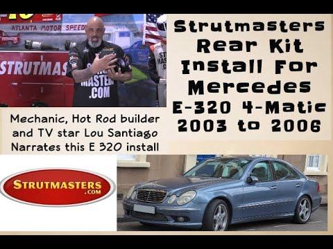 2003 – 2006 Mercedes E320 4Matic Rear Hydraulic Suspension Installation