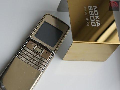 Nokia 8800 Siroco Gold - Bán Điện Thoại 8800 Siroco Gold Giá Rẻ Tại Hà Nội