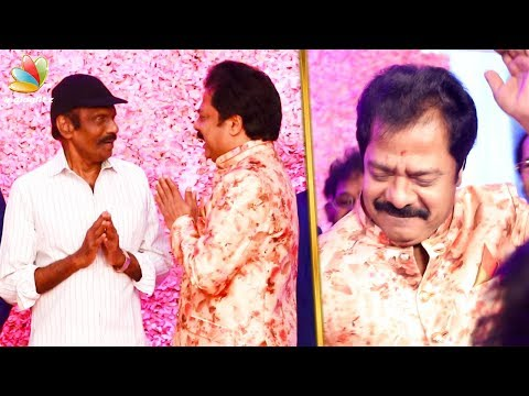 Goundamani Attends Pandiarajan's Son Wedding | Celebrity Marriage | Hot News