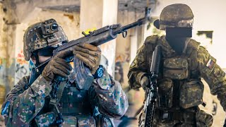 Video SOLDIERS TRYING AIRSOFT 2 - INSANE KILLSTREAKS [ WFOS ] MP3, 3GP, MP4, WEBM, AVI, FLV Maret 2018