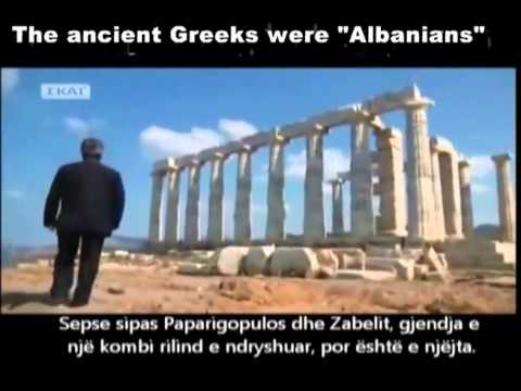 albanians - In this video you are watching how Greeks themselves recognize that betwen 1820 in Greece spoken only Albanian language... this is a fact who prove that PELASGIANS (( ALBANIANS)) ARE THE...