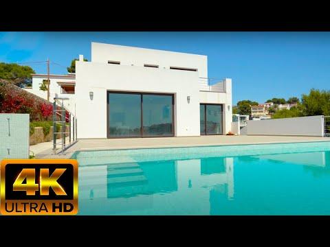 825000€/150м до моря/Новый дом в Испании с видом на море/Дома в стиле Хай тек/ Бенисса/Коста Бланка