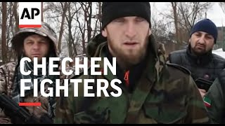 A group of Muslim Chechen fighters in eastern Ukraine said on Sunday they had joined the civil war there on the side of the pro-Russian rebels. One fighter, who ...
