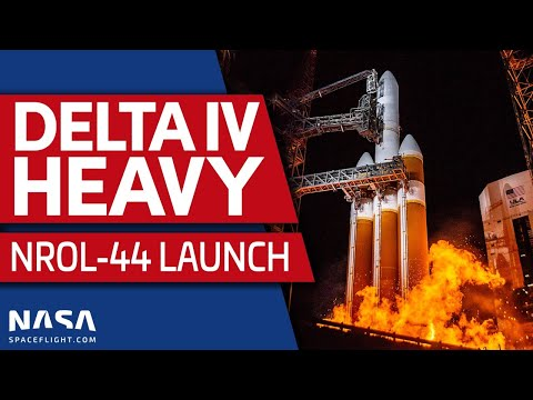 Delta IV Heavy Launches NROL-44 for the National Reconnaissance Office