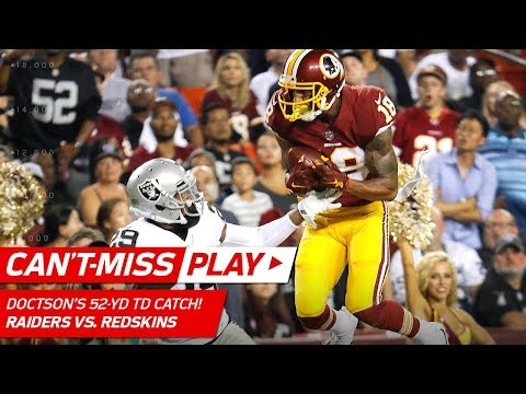 Video: Kirk Cousins to Josh Doctson for a Leaping 52-Yd TD Grab! | Can't-Miss Play | NFL Wk 3 Highlights