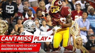 Kirk Cousins to Josh Doctson for a Leaping 52-Yd TD Grab! | Can't-Miss Play | NFL Wk 3 Highlights by NFL