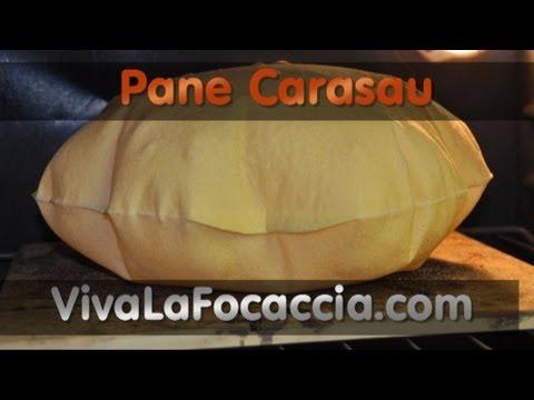 pane carasau fatto in casa - ricetta