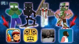 Video Monster School : ALL EPISODE 1 - Minecraft Animation MP3, 3GP, MP4, WEBM, AVI, FLV Juli 2018