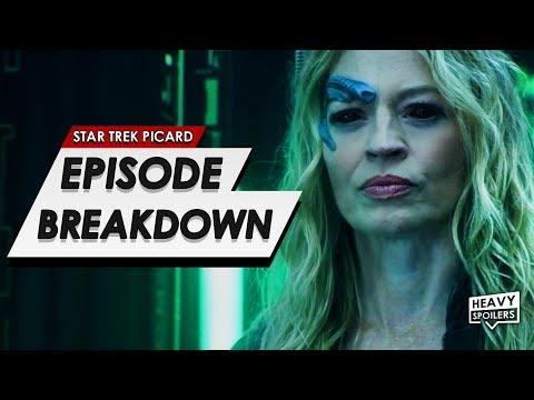 STAR TREK: Picard Episode 8 Breakdown + Ending Explained   Spoiler Review & Episode 9 Predictions