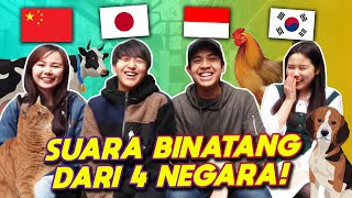Video NGAKAK! PERBEDAAN SUARA BINATANG (INDONESIA VS JEPANG VS CHINA VS KOREA)! MP3, 3GP, MP4, WEBM, AVI, FLV Juni 2019