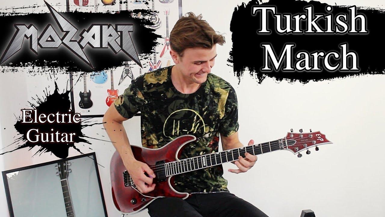 Turkish March – Mozart – Rondo Alla Turca – Electric Guitar Cover