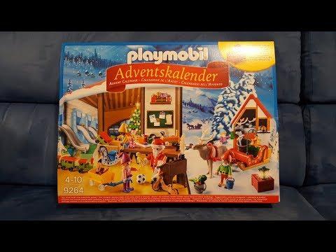 Calendario dell'Avvento Playmobil _ 1 Dicembre 2017