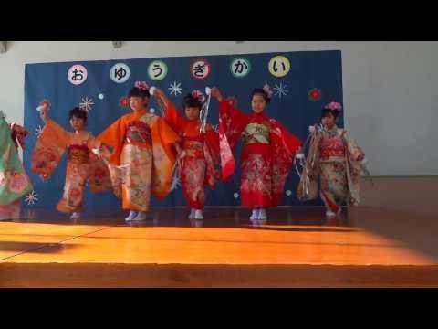 六戸町小松ケ丘幼稚園 おゆうぎ会2013 年長組女児
