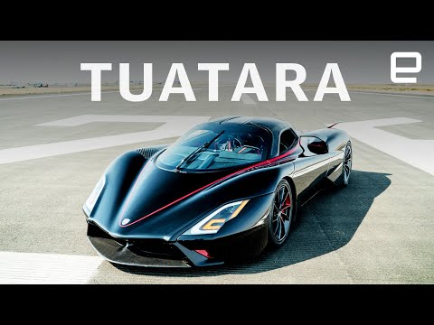 The SSC Tuatara is the world's fastest production car