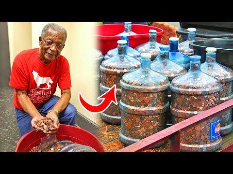 С 1970 года он собирал монеты и спустя 45 лет НЕ ПОВЕРИЛ услышанному (видео)