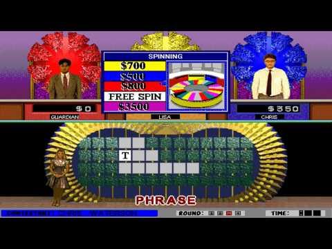 Wheel of Fortune: Deluxe Edition (GameTek) (Windows 3.x) [1994]