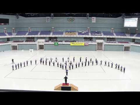 臼田中学校 マーチング 2016/10/9 (県大会 金賞) HD