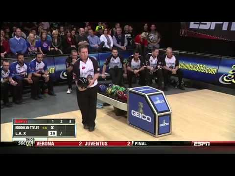 Quater finals of PBA league match LA X vs Brooklyn Styles