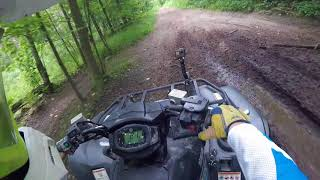 5. Yamaha Grizzly 700 SE 2018 Path to a Corn Field