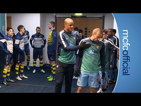 tunnel - Behind the scenes action from the Barclays Premier League clash between Manchester City and Arsenal. What went on when the broadcast cameras weren't filming? Only Tunnel Cam can tell you......