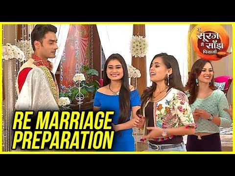 Kanak & Uma RE-MARRIAGE Preparations | Tu Sooraj M