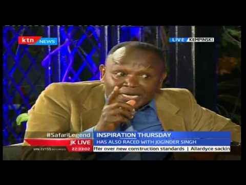 JKL: Inspirational Thursday; Patrick Njiru - Safari Rally Champion, 29/09/2016 Part 2