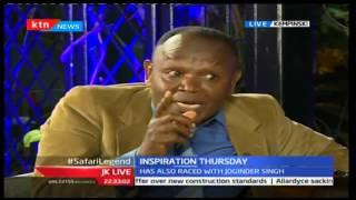JKL: Inspirational Thursday; Patrick Njiru - Safari Rally Champion, 29/09/2016 Part 2