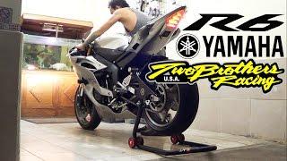 6. Yamaha R6 2012  Full spec / Full acc EXHAUST Twobrothers  (istimewa)
