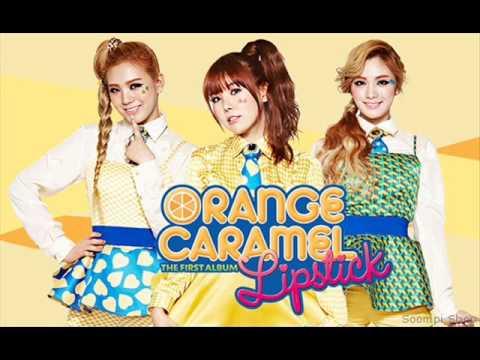 Orange Caramel   Lipstick japanese version