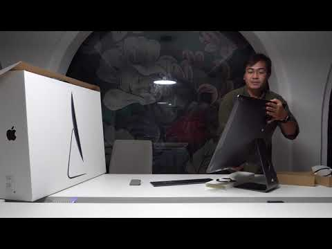 Mở hộp iMac Pro