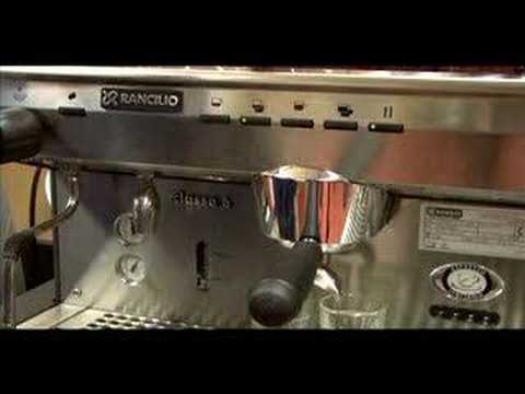 Rancilio Espresso Machine Dose Programming