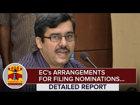 Detailed-Report--Election-Commissions-Arrangements-for-Filing-Nomination--Thanthi-TV