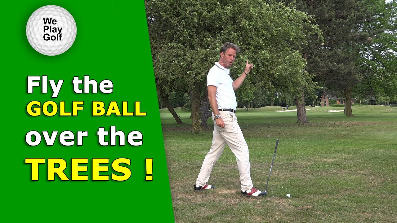 How to Fly the golf ball over a tree