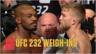 Video Jon Jones avoids Alexander Gustafsson at UFC 232 Weigh-Ins | MMA MP3, 3GP, MP4, WEBM, AVI, FLV Juni 2019