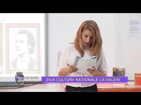 Emisiunea Vălenii de Munte la timpul prezent – Ziua culturii naționale la Văleni – 23 ianuarie 2015