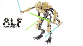 Lego Star Wars 75112 General Grievous Buildable Figure - Lego Speed Build Review
