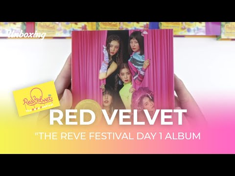 "🎁Unboxing & Giveaway RED VELVET ""The ReVe Festival Day 1"" Album レッドベルベット 레드벨벳 언박싱 Kpop Ktown4u"