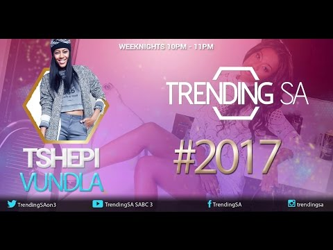 TrendingSA - Episode 111 (03 January 2017)