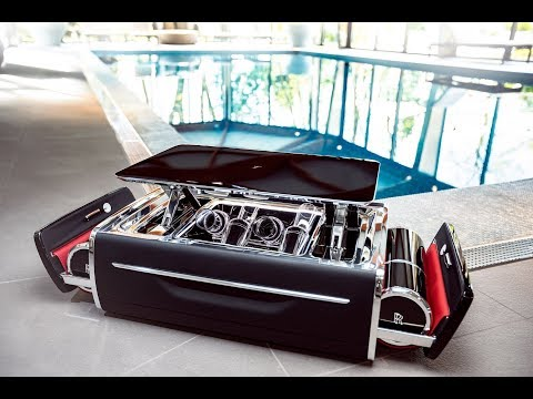 Rolls Royce Champagne Chest Costs More Than Your Car