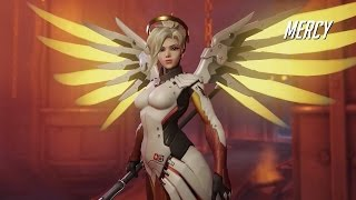 Overwatch - Mercy Gameplay Trailer