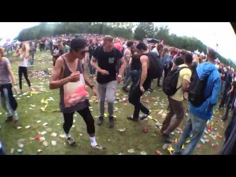 Ravers Dance To Benny Hill Theme!