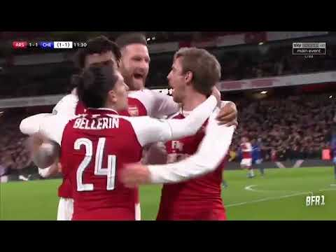 Arsenal 2-1 Chelsea  Highlights & All Goals — 24 01 2018  HD quality