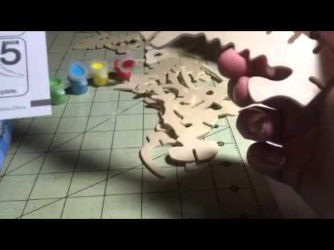 Bfun Dino 3D Wood Puzzle