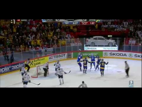 sverige - IIHF World Championship 2013, All Goals, SWEDEN - FINLAND 3:0.